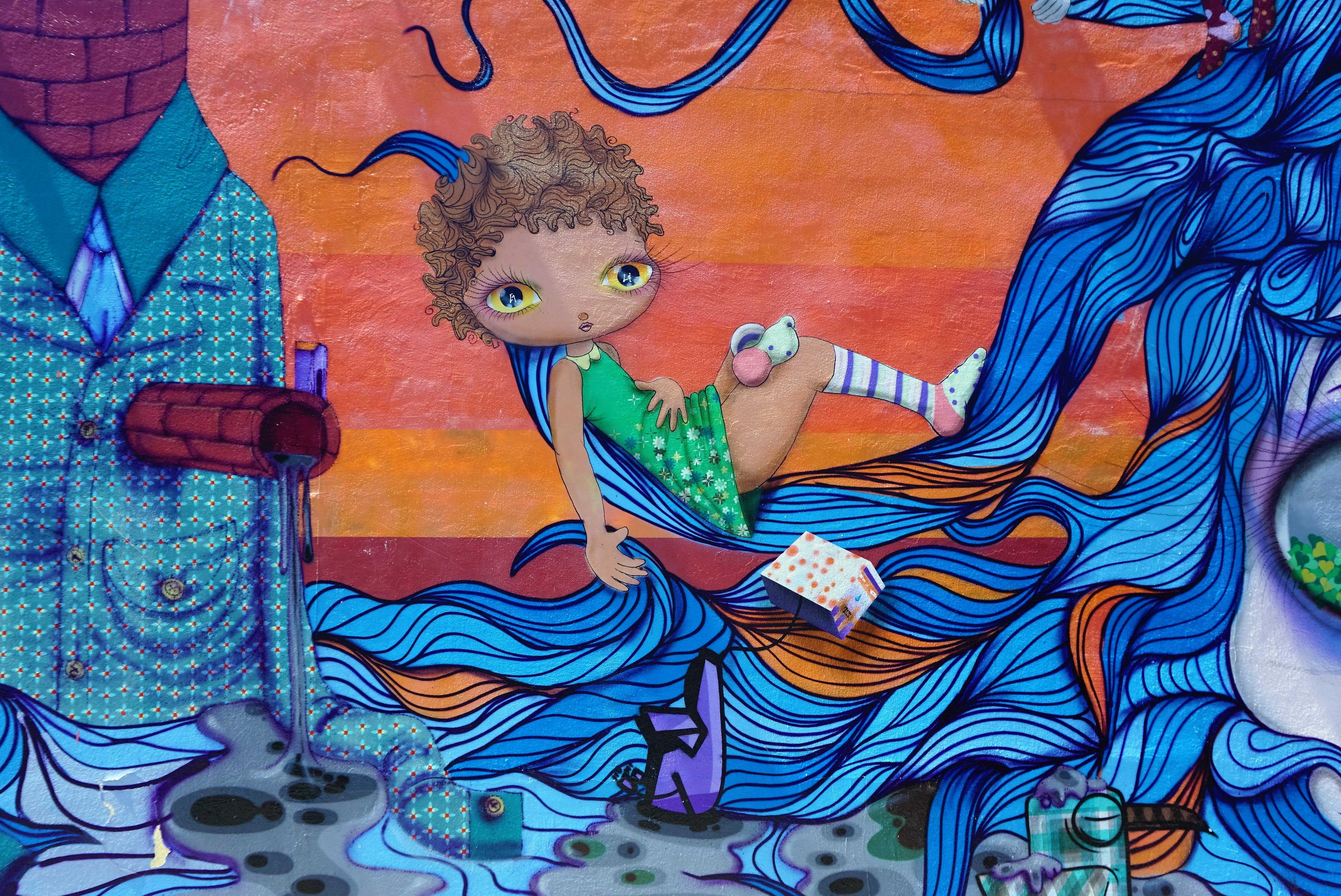 美术-目的地攻略,Color me Wynwood 步行在Miami的艺术街区