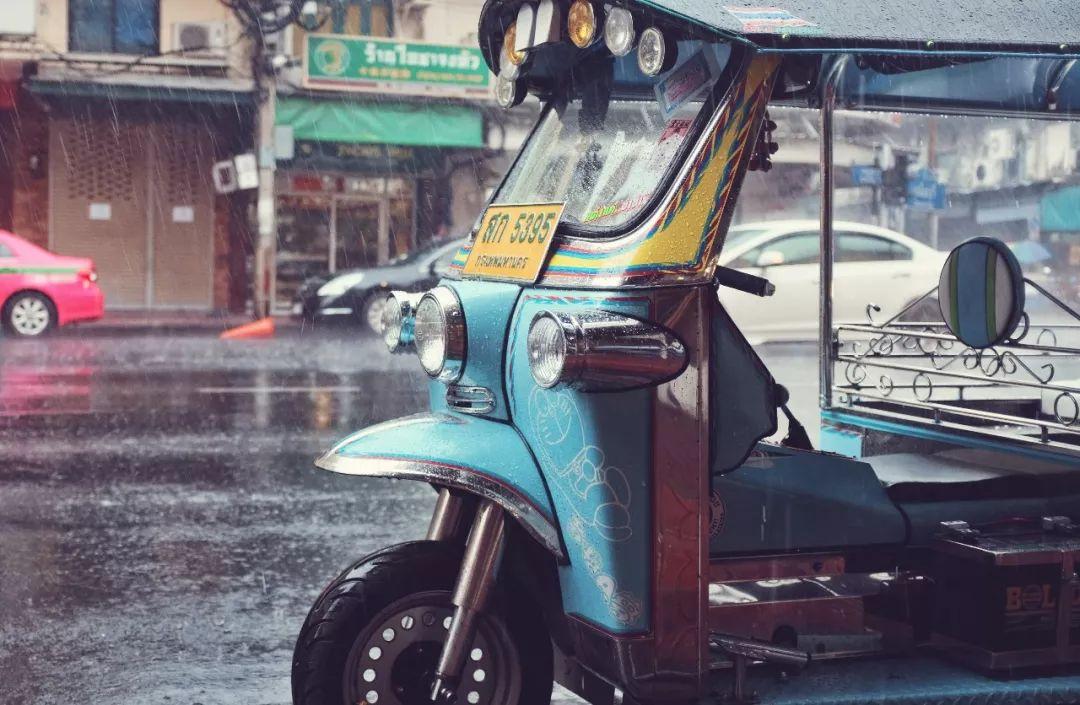 泰国 tutu 车,另一种 taxi