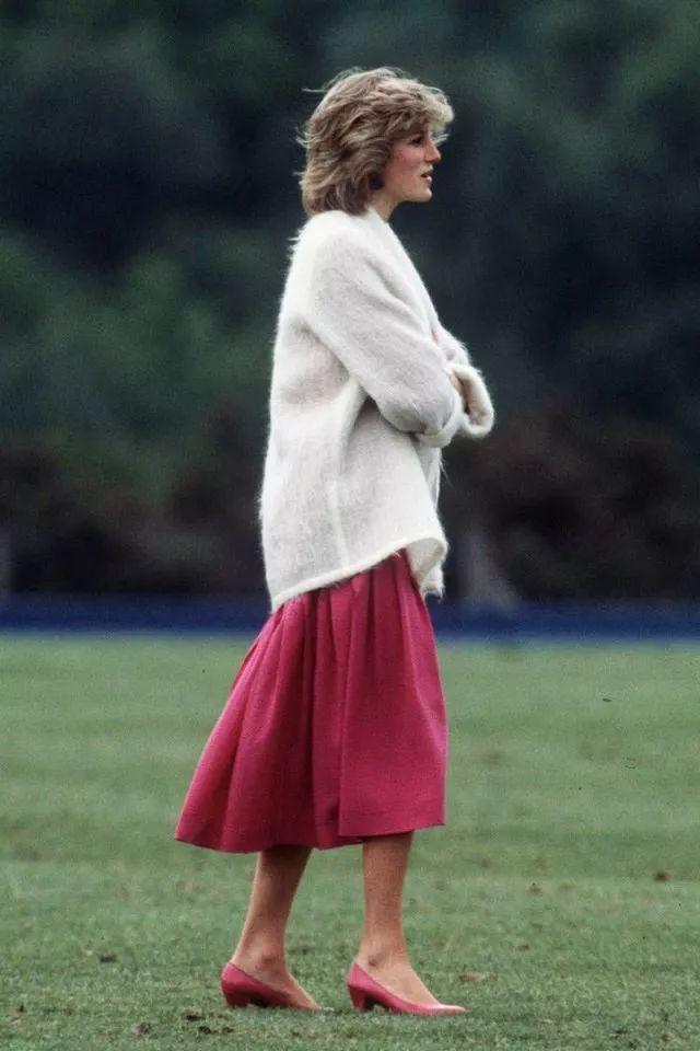 戴安娜王妃引领的时尚,现在又回来啦